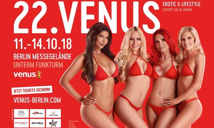 Tageskarte Erotikmesse VENUS 2018