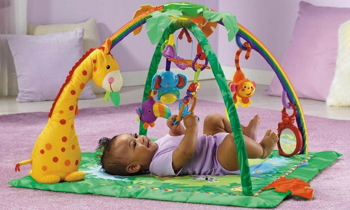 Tapis D Eveil Deluxe Jungle Groupon Shopping