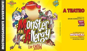 Monster Allergy, Teatro Sistina Roma: Monster Allergy, Il Musical il 22 settembre al Teatro Sistina di Roma (sconto 48%)