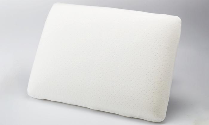 oreillers en mousse m moire de forme groupon. Black Bedroom Furniture Sets. Home Design Ideas