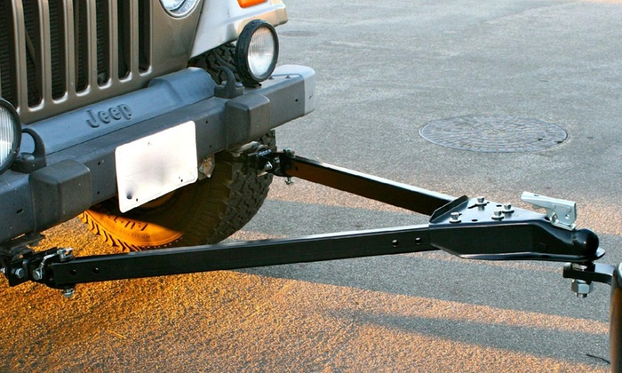 Vehicles With 5000 Lb Towing Capacity >> Up To 26 Off On Adjustable Universal Tow Bar Groupon Goods