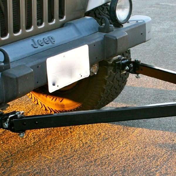 Vehicles With 5000 Lb Towing Capacity >> Adjustable Universal Vehicle Tow Bar 5000 Lb Capacity