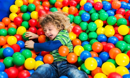Soft Play Entry for Two or Three Children at Sindbads Soft Play Centre (Up to 51% Off)