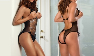 Ensemble sensuel Body et String