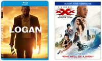 Logan or xXx on Blu-Ray and DVDLoganThe PlotIn the near future, a weary Logan cares for Professor X. He wants to hide from the outside world, yet his plan gets upended when he meets a young mutant who is very much like him. Logan must protect the girl and battle the dark forces that want to capture her.The Cast  Hugh Jackman  Patrick Stewart  Dafne Keen  Boyd Holbrook  Stephen Merchant	Specifics  2 discs  Run time: 2h 17min  Rating: RxXx: Return of Xander CageThe PlotXander Cage is left for dead after an incident. Yet, he soon secretly returns to action for a new, difficult assignment with his handler, Augustus Gibbons.The Cast  Vin Diesel  Donnie Yen  Deepika Padukone	  Kris Wu  Ruby RoseSpecifics  2 discs  Run time: 1h 47min   Rating: PG-