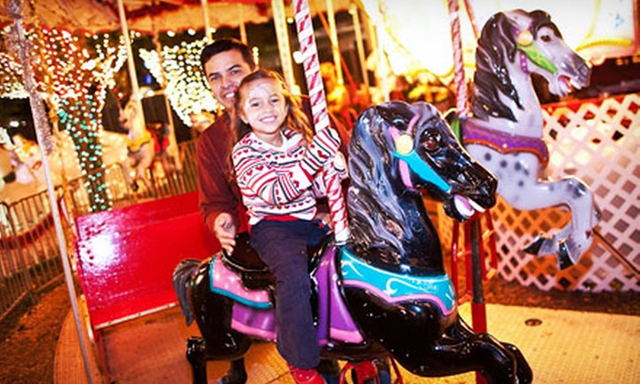 Santa's Enchanted Forest - Olympia Heights: Santa's Enchanted Forest Visit and a Snack Package for One Adult or One Child (Up to Half Off)