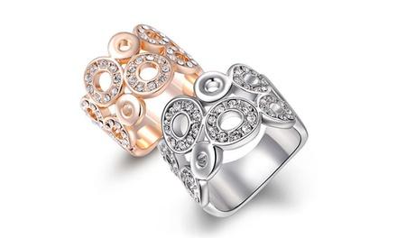 1x oder 2x Ring Helen in der Farbe Silber oder Gold