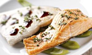 Restauracja Lobster: Uczta z klasą: 65 zł za groupon wart 100 zł na dania z menu i więcej opcji w Restauracji Lobster w Gdańsku (-35%)