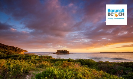 South Coast, Batemans Bay: 3, 5 or 7 Nights for Four People with Late CheckOut at Barlings Beach Holiday Park