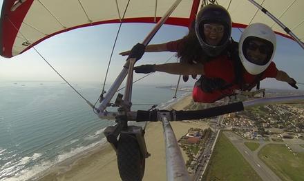 Vuelo tándem en ala delta sin motor para 1 o 2 personas desde 49,95 € en Sky Gliding