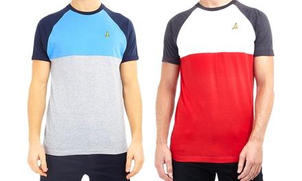 Brave Soul Mens Crew Neck T-Shirt