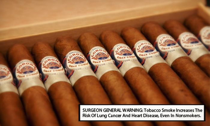 Corona Cigar Co. - Doctor Phillips: $12 for $25 Worth of Beer, Wine, Champagne, and Port at Corona Cigar Company