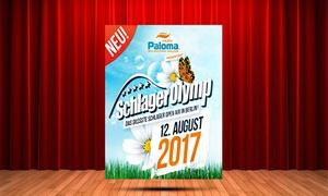 Freizeit- und Erholungspark Lübars: 1, 2, 4 oder 6 Tickets für den SchlagerOlymp am 12.08.2017 im Freizeit- und Erholungspark Lübars (bis zu 50% sparen)