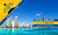 Surfers Paradise: Up to 5-Night Getaway for Two with Late Check-Out and In-Room Movies at Beachcomber Resort