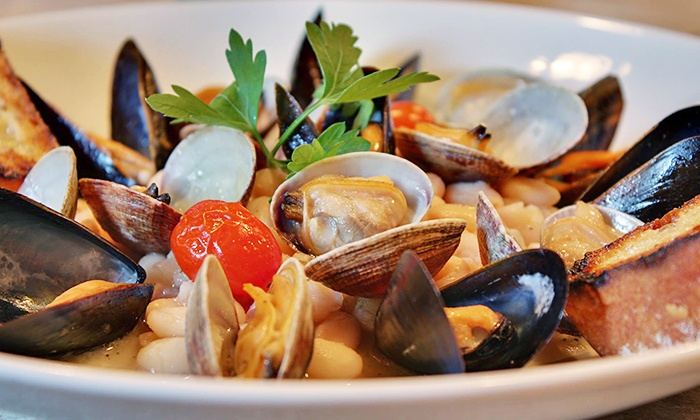 Marcello's - Lafayette Theater: Zagat-Rated Upscale Italian Dinner for Two or Four at Marcello's Ristorante of Suffern (Up to 48% Off)