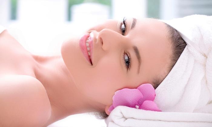 Azemi Salons - Pine: Hydra Dew Facial or Azemi Spa Facial and Mask at Azemi Salons (Up to 51% Off)
