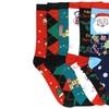 Women's Assorted Print Christmas Crew Socks (6-Pairs)