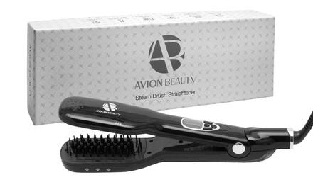 Avion Beauty Hair Straightening Steam Brush