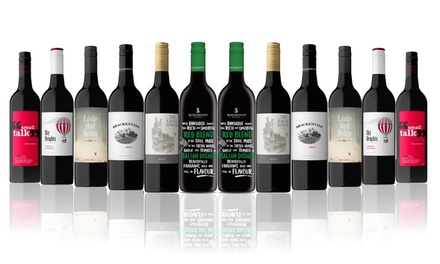 $69 for a 12-Bottle of Australian Red Mixed Wine Case Featuring Rosemount 5 Star Winery (Don't Pay $189)