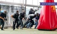 3 Std. Paintball mit Ausrüstung für 1, 4, 6, 8 oder 10 Personen im Paintball-Arenaclub-Kaarst (bis zu 52% sparen*)