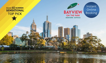 Melbourne: Premier Room Stay for Two People at Bayview on the Park Hotel