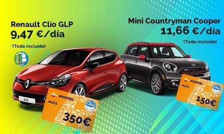 Paga 0€ y obtén una tarjeta regalo de repostaje Repsol de hasta 350€ contratando un renting con ALD Renting