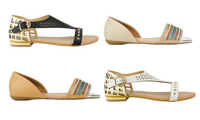 9dc6d9be4 KMJ Women's Sandals | Groupon