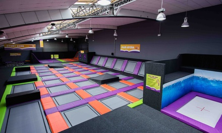 One-Hour Jump Access for One, Two or Four at Jump4 Trampoline Park (Up to 30% Off)