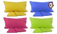 Completo letto matrimoniale Iberis di Bassetti disponibile in vari colori
