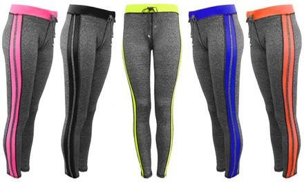 Stripe Activewear Leggings