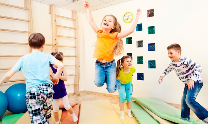 Funfit's Organically Grown Gym - Sandy Spring: One-Month After-School Program or At-Home Birthday Party from Funfit's Organically Grown Gym (Up to 59% Off)