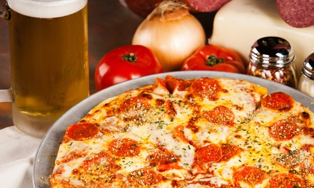 Pub Food and Drinks at American Junkie (50% Off). Two Options Available.