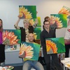 Up to 52% Off Painting Class with Free Wine & Snacks