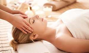 M BioSpa: Spa Package with Massage, Oxygen Bar and Optional Body Wrap and Treatments at M Biospa (Up to 57% Off)