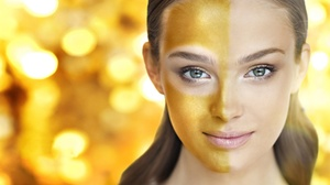 Adore Cosmetics: Choice of Facial with 24-Kt Gold Mask and Organic Products at Adore Cosmetics (Up to 74% Off)