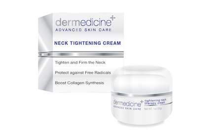 Dermedicine Advanced Skin Care Tightening Neck Therapy Cream