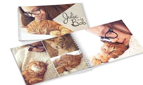 Fotolibro 'Espiral' personalizable de 20, 40 o 60 páginas y tamaño a elegir desde 2,99 € en Printer Pix