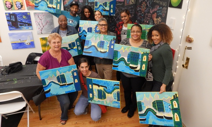 The Paint Place Up To 50 Off New York Ny Groupon