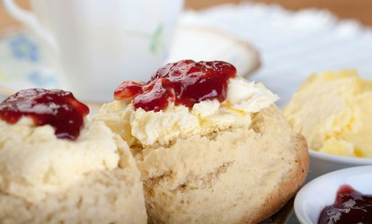 Cream Tea for Two or Four at Through The Looking Glass Boutique