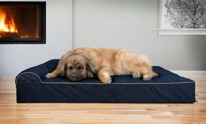 Extra Large Chaise Pet Dog Bed for Giant Dog Breeds