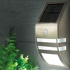Outdoor Solar LED Security Light with Motion and Light Sensor (2-Pack)