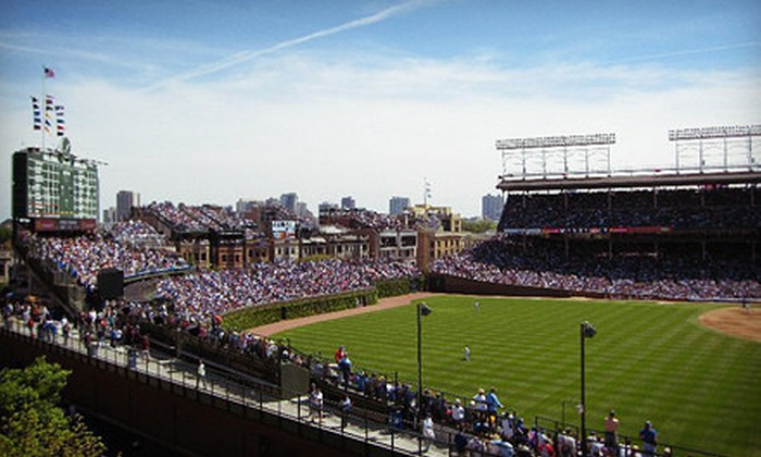 Wrigley Rooftop - Wrigley View Rooftop: Cubs Game Rooftop Seating at Wrigley Rooftop with All-Inclusive Food and Drink (Up to 59% Off). Eight Games Available.