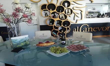 Degustazione vini a Valdobbiadene