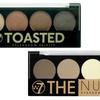 W7 Cosmetics Eyeshadow Palette (1- or 2-Pack)
