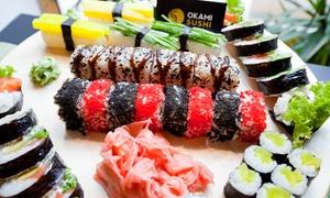 Okami Sushi: Zestawy sushi: 24 kawałki za 49,99 zł i więcej opcji w Okami Sushi (do -38%)
