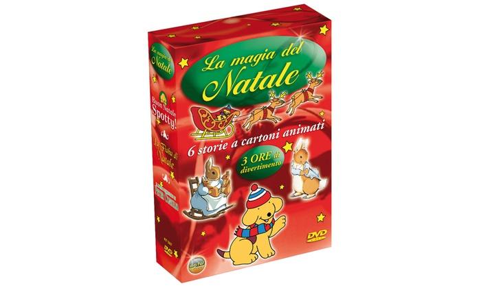 Groupon Goods Global GmbH: Cofanetto da 3 DVD 'La magia del Natale' con 190 minuti di cartoni animati a 17,90 € (28% di sconto)