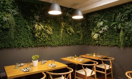 Menú fusión latino para 2 o 4 personas con entrante, principal, postre y bebida desde 24,99 € en Guayabal Oferta en Groupon