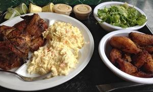 Waku Chicken: $12 for $20 Worth of Peruvian Chicken, Sides, and Drinks at Waku Chicken
