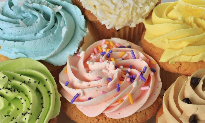 Helena Wirth Cakes - Van Nuys: 12 or 24 Regular Cupcakes at Helena Wirth Cakes (Up to 55% Off)