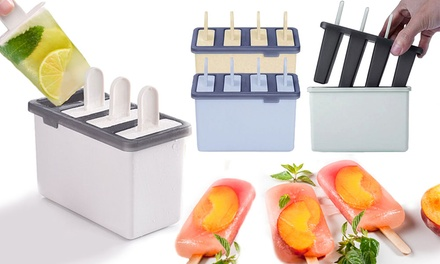 One, Two, Four or Eight Ice Cream Maker Trays